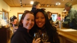 Samantha and I loving the wine. Find the hours for the tasting rooms! Some close as early as 4 PM!