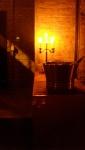 Mood lighting.
