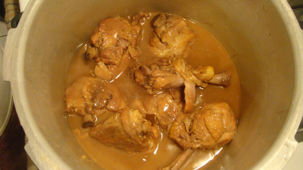 Filipino chicken adobo -- Final product! Done!