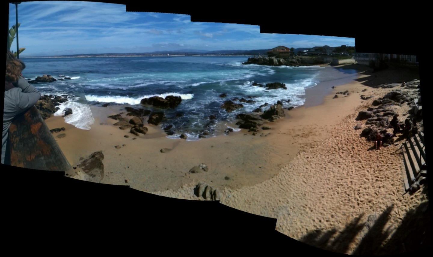 Monterey, CA. Wish you were here.