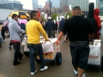 Protestors need ice cream, too