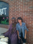 The African Drummer & I, Eastern Market, Detroit