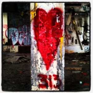 I heart the 313, Packard Plant, Detroit