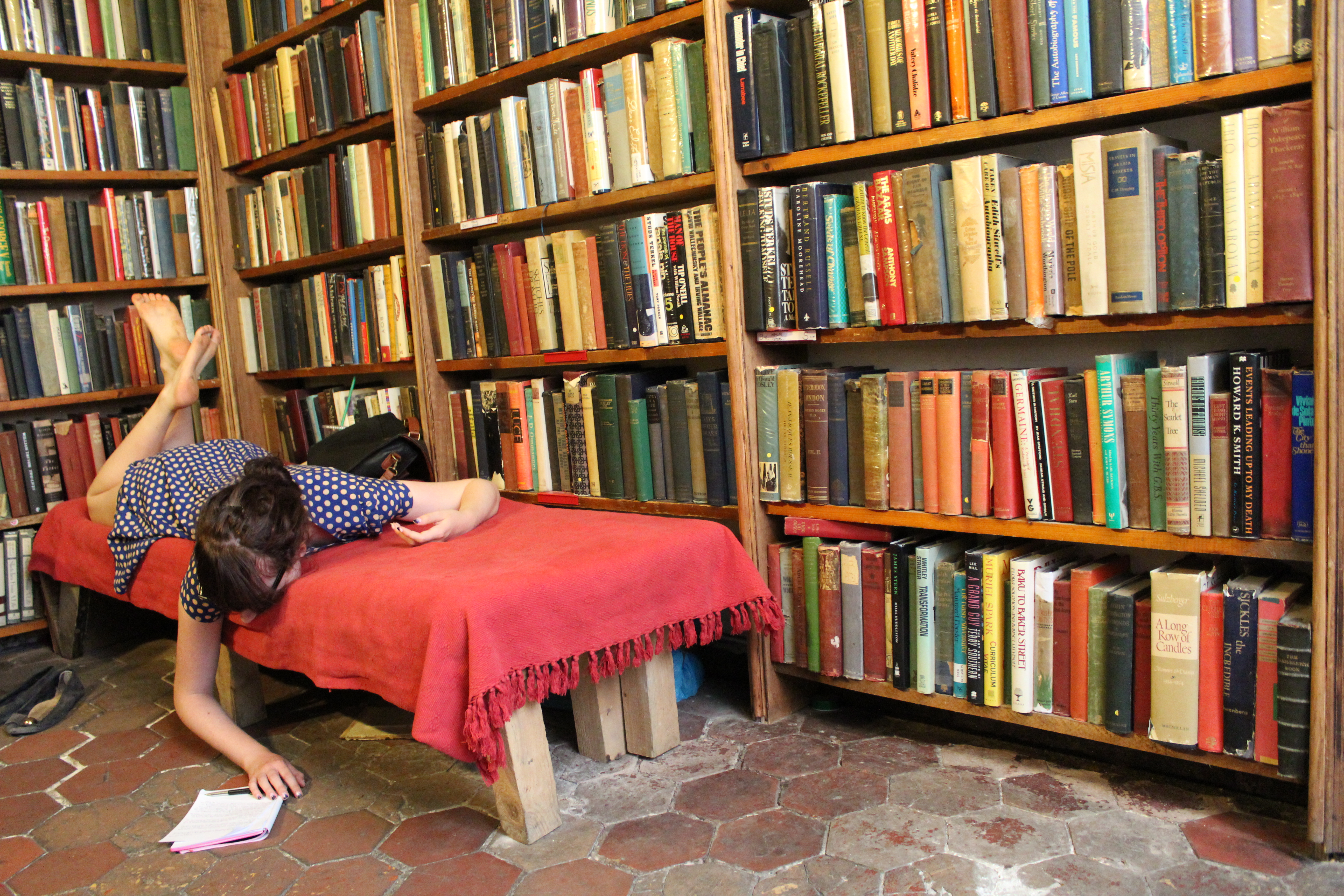 Shakespeare and company paris. quite possibly the best bookstore