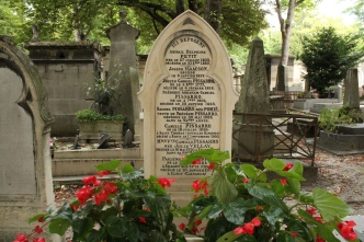 Family grave of Camille Pissaro, painter
