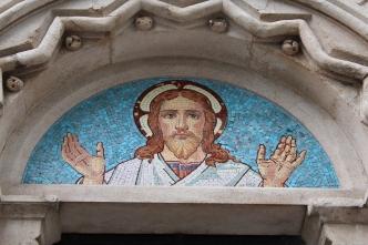 Mosaic Jesus.