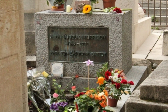 James Morrison's grave, Paris