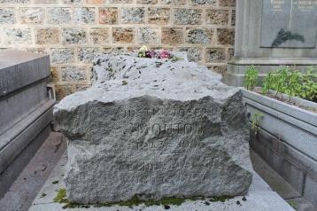Rough-hewn stone.