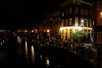 Bar terrace canal-side
