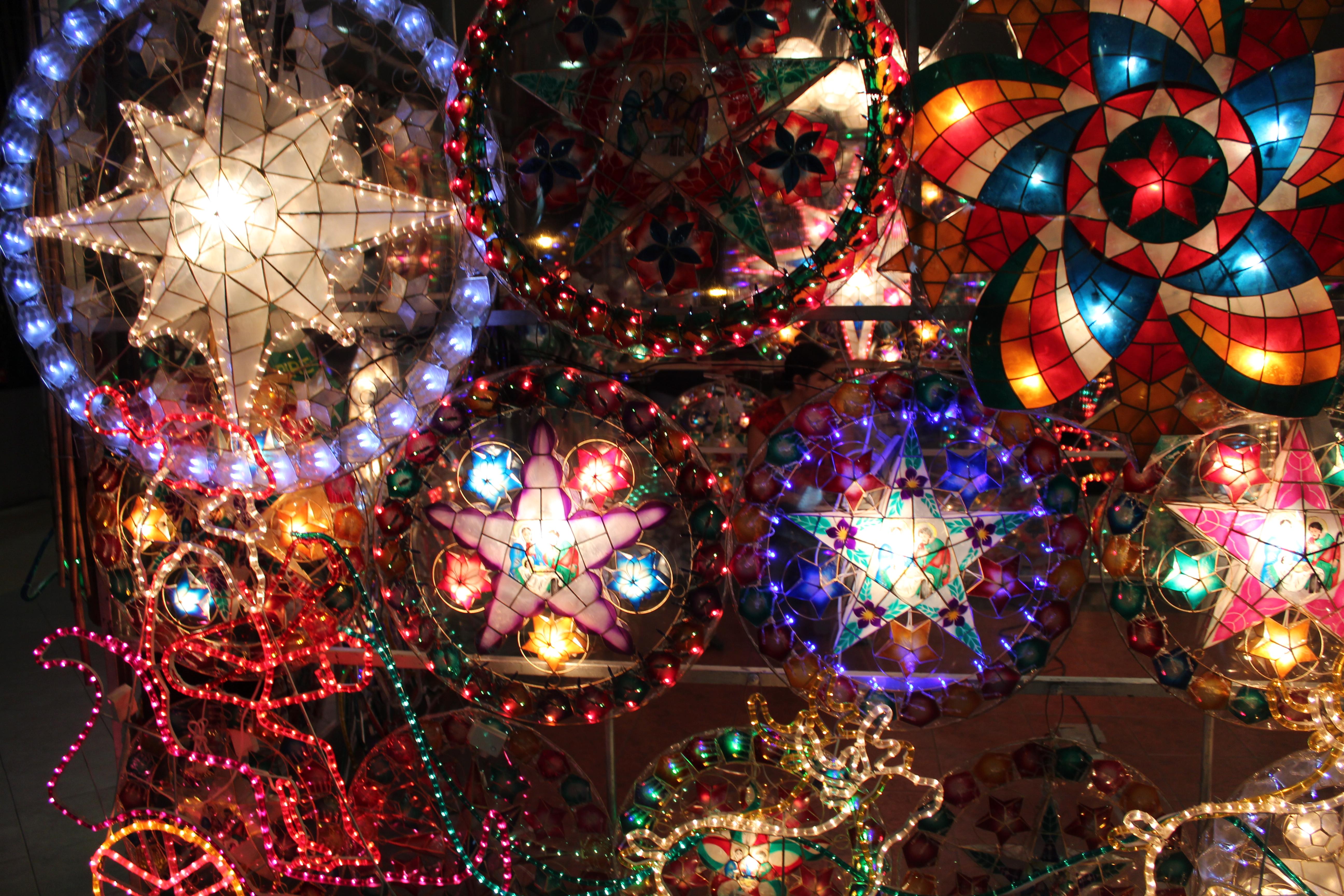 Mga Parol, Filipino Christmas lanterns | Sarahlynn Pablo, Writer