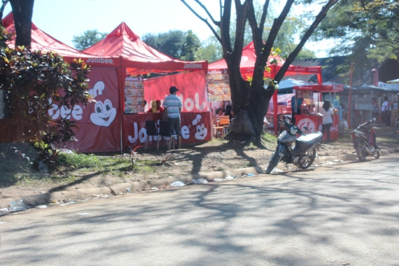 Jollibee and Chow King at Undas (Day of the Dead), Philippines