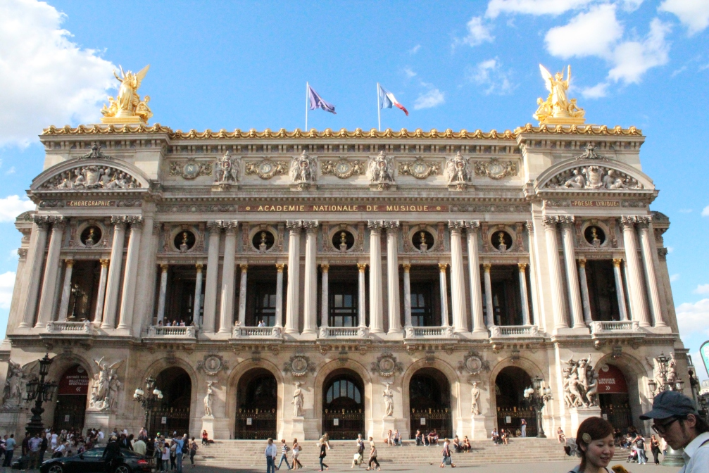 L'Opera Paris, also known as Palais Garnier, after its architect.
