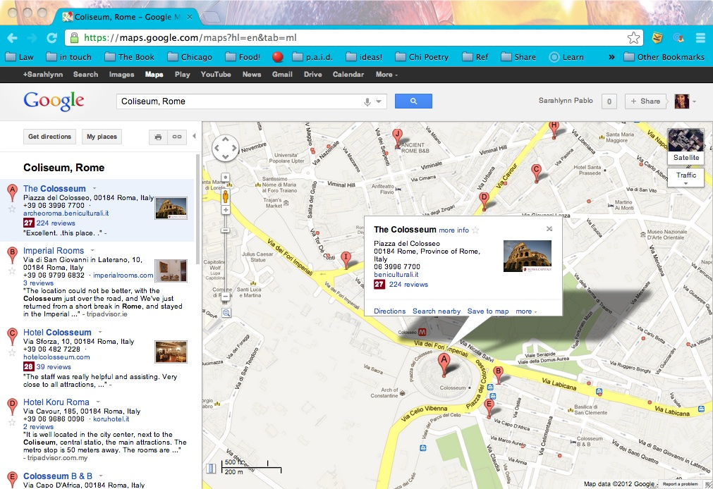 DIY Google Maps and the Type-A Traveler – Sarahlynn Pablo, Writer