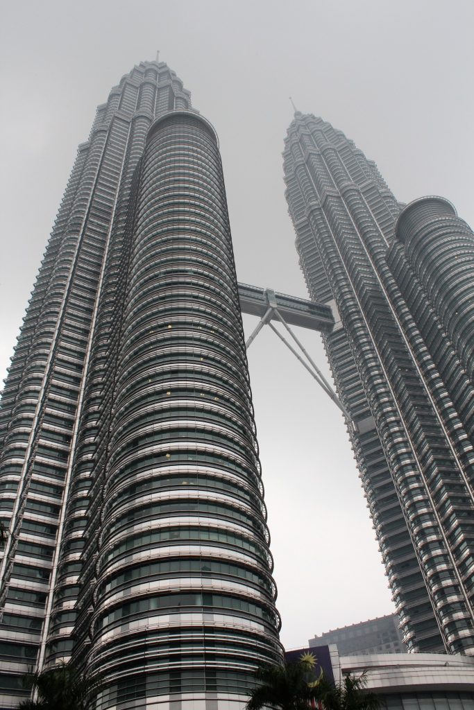 Former tallest buildings in the world. Built on oil. Petronas Towers.
