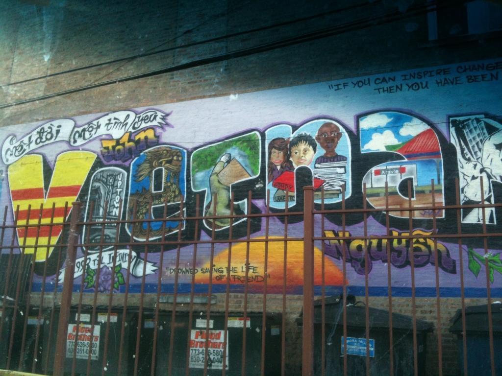 Vietnam Mural, Argyle Street alley, Chicago