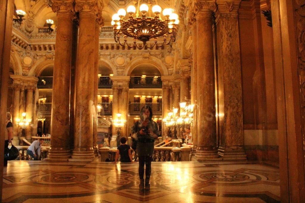 Opéra Garnier, selfie.