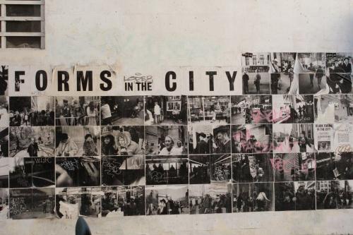 Forms of the City, street art, Paris