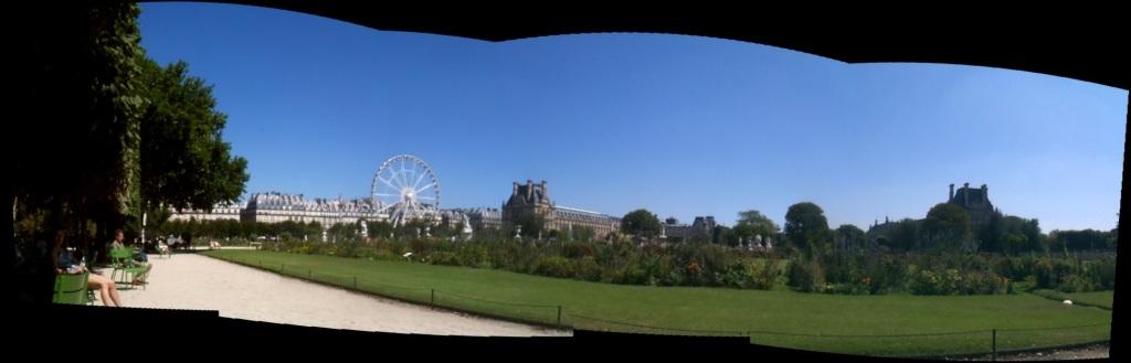 Jardin des Tuileries, Paris, carnival, August