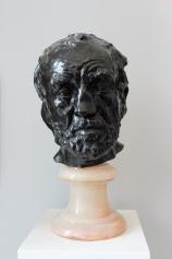 Man With a Broken Nose, Auguste Rodin, bronze