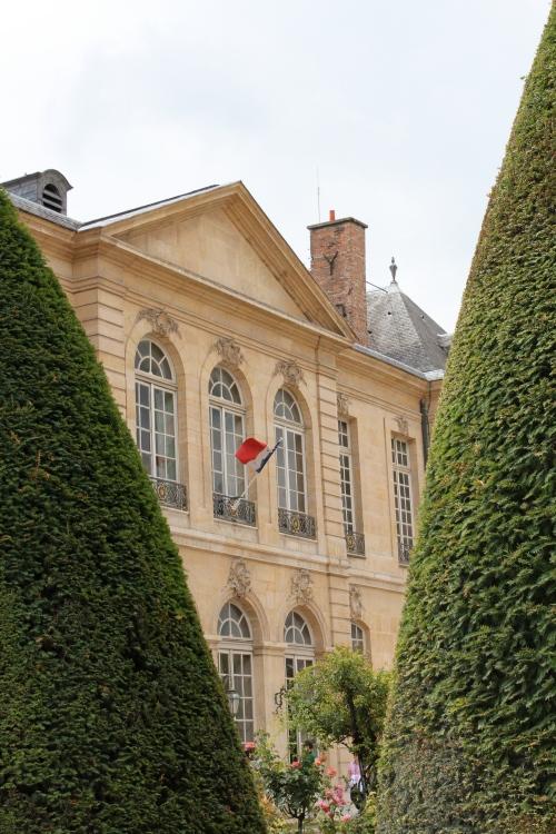 Hotel Biron, mansion of Musee Rodin, Paris
