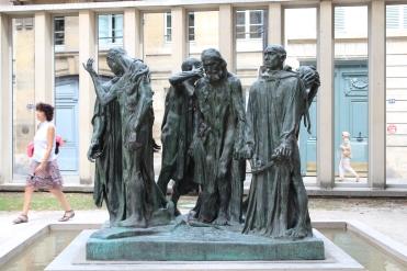 Les Bourgouis de Calais - The Burghers of Calais, Auguste Rodin, 1889