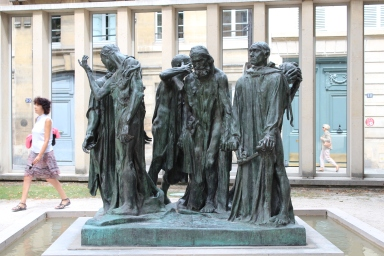 Les Bourgouis de Calais - The Burghers of Calais, Auguste Rodin, 1889