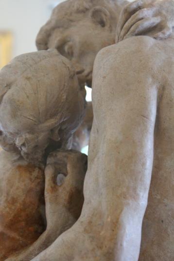 Study of The Kiss, Rodin