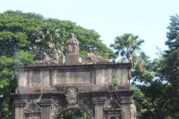 Arch entry, University of Santo Tomas, Manila, Philippines
