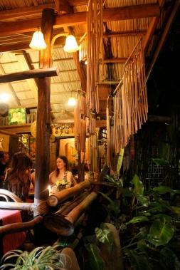 Bamboo chimes, KaLui Restaurant, Puerto Princesa, Palawan, Philippines