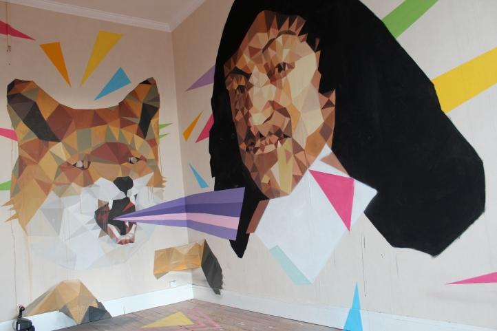 Artist Uriginal (Spain), room 983, floor 8, #tourparis13