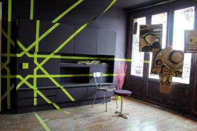 Artist Deyaa, apartment 991, top floor, #tourparis13