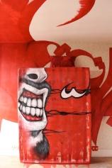 Artist Maz (Saudi Arabia), apartment 991, top floor, #tourparis13