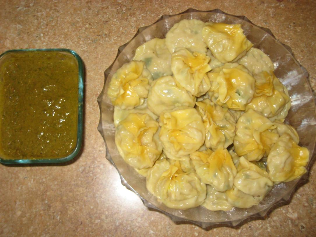 Momos (Nepali dumplings) by Gita's Momo Kitchen. Photo courtesy Ravi Grover