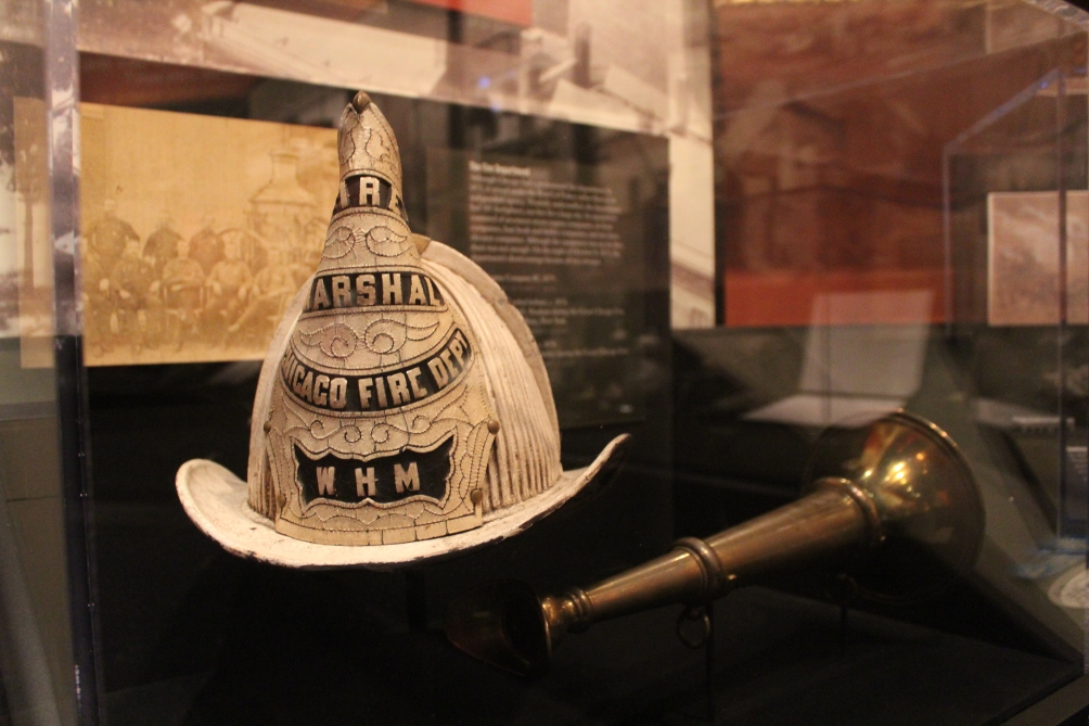 Great Chicago Fire artifacts, Chicago History Museum