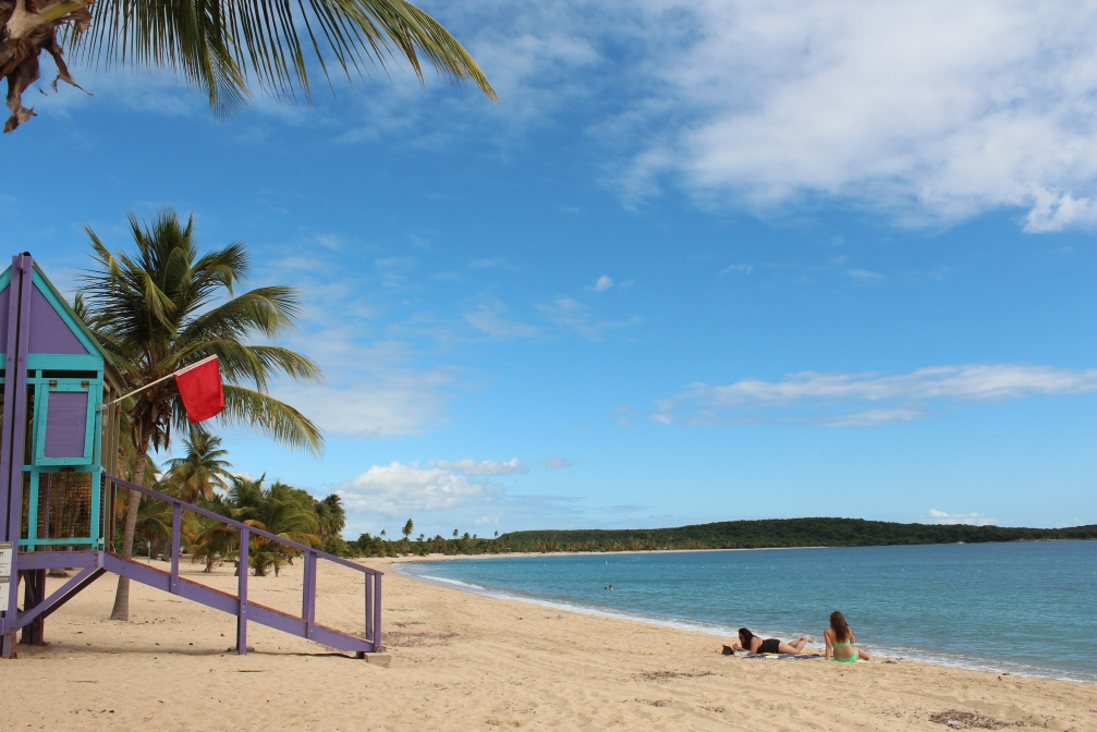 Sun Bay and not another soul in sight, Vieques, Puerto Rico