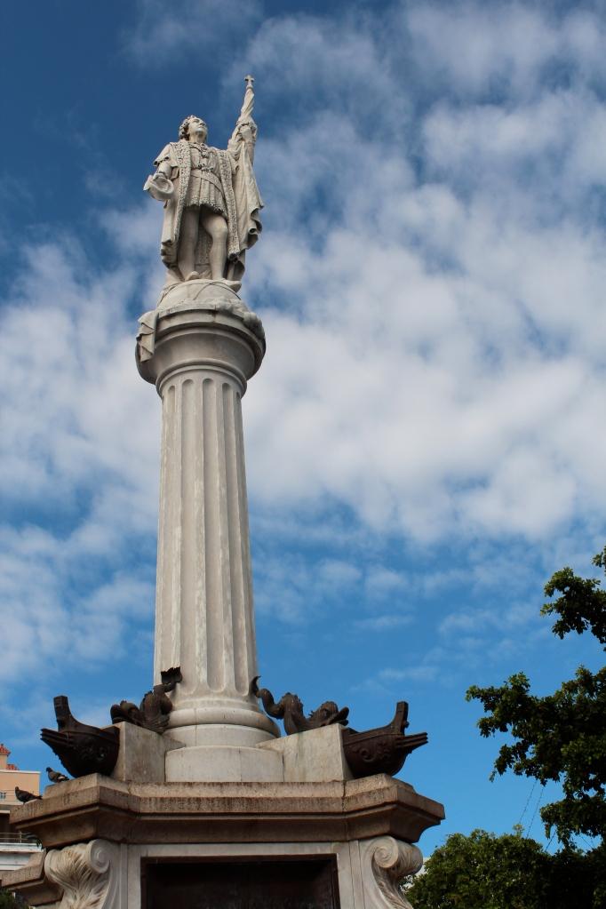 Plaza de Colon, Christopher Columbus Plaza, Old San Juan, Puerto Rico